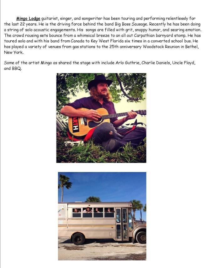 Musicians Bios pg 10 2016