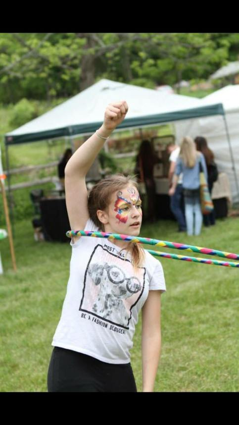 Hooping & Face painting 2017